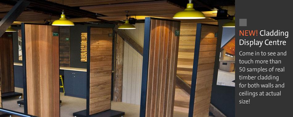 Timber Cladding Display