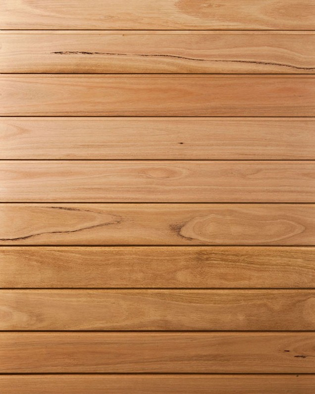 Brown Wooden Cladding ~ Blackbutt cladding timber melbourne