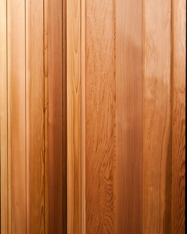 Cedar Cladding Shiplap And V Jointed Timber Cladding